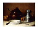 Before the Meal; Avant Le Repas Giclee Print by Francois Millet