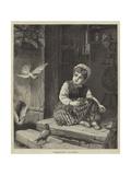 Breakfast-Time Giclee Print by Francis John Wyburd