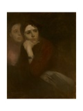 Two Women, C.1895 Giclee Print by Eugene Carriere