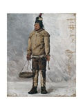 An Eskimo Giclee Print by Francois Auguste Biard