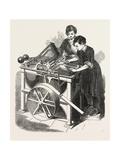 Delarue's Patent Envelope Machine, 1851 Giclee Print by Fortune Delarue