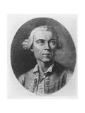 Portrait of Carlo Gozzi Giclee Print by Francesco Bartolozzi