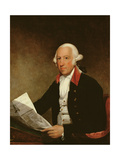 Portrait of James Rivington after a Painting by Gilbert Stuart (1755-1828), 1806 Giclee Print by Ezra Ames