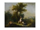 A Landscape Giclee Print by Francesco Zuccarelli