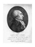 Jacques René Hébert Giclee Print by Francois Bonneville