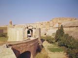 Entrance to the Fort De Salses, Built 1497-1504 Photographic Print by Francisco Ramirez