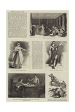 Sketches at the Lyceum Giclee Print by Francis S. Walker
