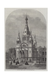 The New Russian Church in Paris Giclee Print by Felix Thorigny