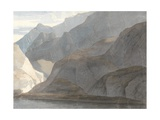 On the Lake Como, 1781 Giclee Print by Francis Towne