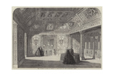 The Chamber of Mary De Medicis, in the Palace of the Luxembourg, Paris Giclee Print by Felix Thorigny