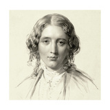 Portrait of Harriet Beecher Stowe, 1853 Giclee Print by Francis Holl