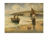 Landing a Catch, B Giclee Print by Eugene Joseph McSwiney