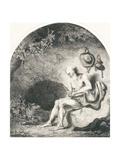Saint Jerome, 1644 Lámina giclée por Ferdinand Bol