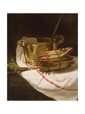 Still Life with Asparagus, 1881 Giclee Print by Francois Bonvin