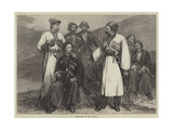 Immeritians of the Caucasus Giclee Print by Felix Regamey