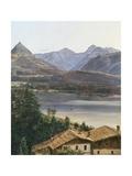 Wolfgangsee Giclee Print by Ferdinand Georg Waldmuller