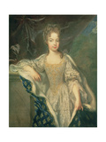 Portrait of Adelaide of Savoy (B.1685) 1697 Giclee Print by Francois de Troy