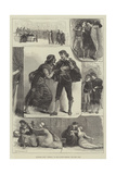 Sketches from Othello, at the Lyceum Theatre Giclee Print by Francis S. Walker