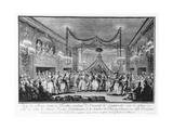 May Ball at Versailles During the Carnival of 1763 Giclee Print by Francois Nicolas Martinet