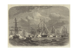 The International Naval Festival at Cherbourg Giclee Print by Edwin Weedon