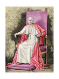 Pope Leo XIII (1810-1903) Giclee Print by Fortune Louis Meaulle