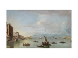 Venice: the Fondamenta Nuove with the Lagoon and the Island of San Michele, C.1758 Giclee Print by Francesco Guardi