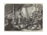 The Pirates Giclee Print by Francois Auguste Biard