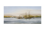 Seascape Giclee Print by F. W. Thompson