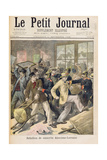 Rebellion of Conscripts from Alsace-Lorraine, from 'Le Petit Journal, 1st November 1896 Giclee Print by Fortune Louis Meaulle
