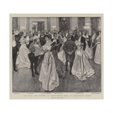 The Duke and Duchess of Devonshire's Ball at Chatsworth House Giclee Print by Frank Craig