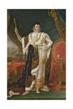 Portrait of Jerome Bonaparte (1784-1860) King of Westphalia Giclee Print by Francois Josephe Kinson
