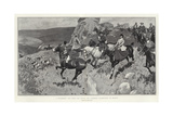 A Successful Day with the Devon and Somerset Staghounds on Exmoor Giclee Print by Frank Craig