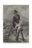 Caught! Giclee Print by Erskine Nicol