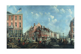 Tontine Coffee House, C.1797 Giclee Print by Francis Guy