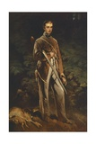 Portrait of Max Von Fabrice Giclee Print by Ferdinand Von Rayski