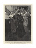 A Visit to the Loretto Convent, Niagara Falls Giclee Print by Frank Craig