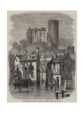 The Late Inundations in Normandy, the Chateau De Falaise Giclee Print by Felix Thorigny