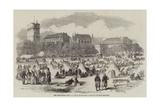 The Paris Fetes, the Camp at St Maur Giclee Print by Felix Thorigny