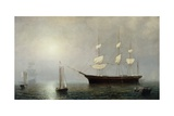 The Ship Starlight, C.1860 Giclee Print by Fitz Henry Lane