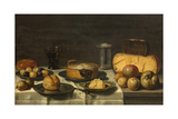 A Dutch Breakfast Giclee Print by Floris van Schooten