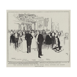 The Gordon Memorial Ball at the Hotel Cecil, Between the Dances Giclee Print by Frank Craig