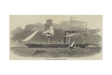The Jylland, Danish Government Steamer Giclee Print by Edwin Weedon