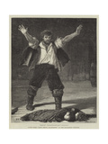 Scene from Dan'L Druce, Blacksmith, at the Haymarket Theatre Giclee Print by Francis S. Walker
