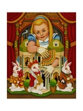The White Rabbit's House, 2015 Giclee Print by Frances Broomfield