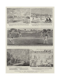 Centenary of the Marylebone Cricket Club Giclee Print by Francis Hayman