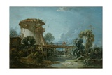 The Dovecote, 1758 Giclee Print by Francois Boucher