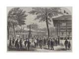 The International Cattle Show at Poissy Giclee Print by Felix Thorigny