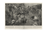 The Great Attack on Ladysmith, the Final Repulse of the Boers on Wagon Hill Giclee Print by Frank Craig