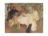 Al Fresco, C.1904 Giclée-Druck von Emmanuel Phillips Fox
