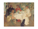 Al Fresco, C.1904 Giclee Print by Emmanuel Phillips Fox